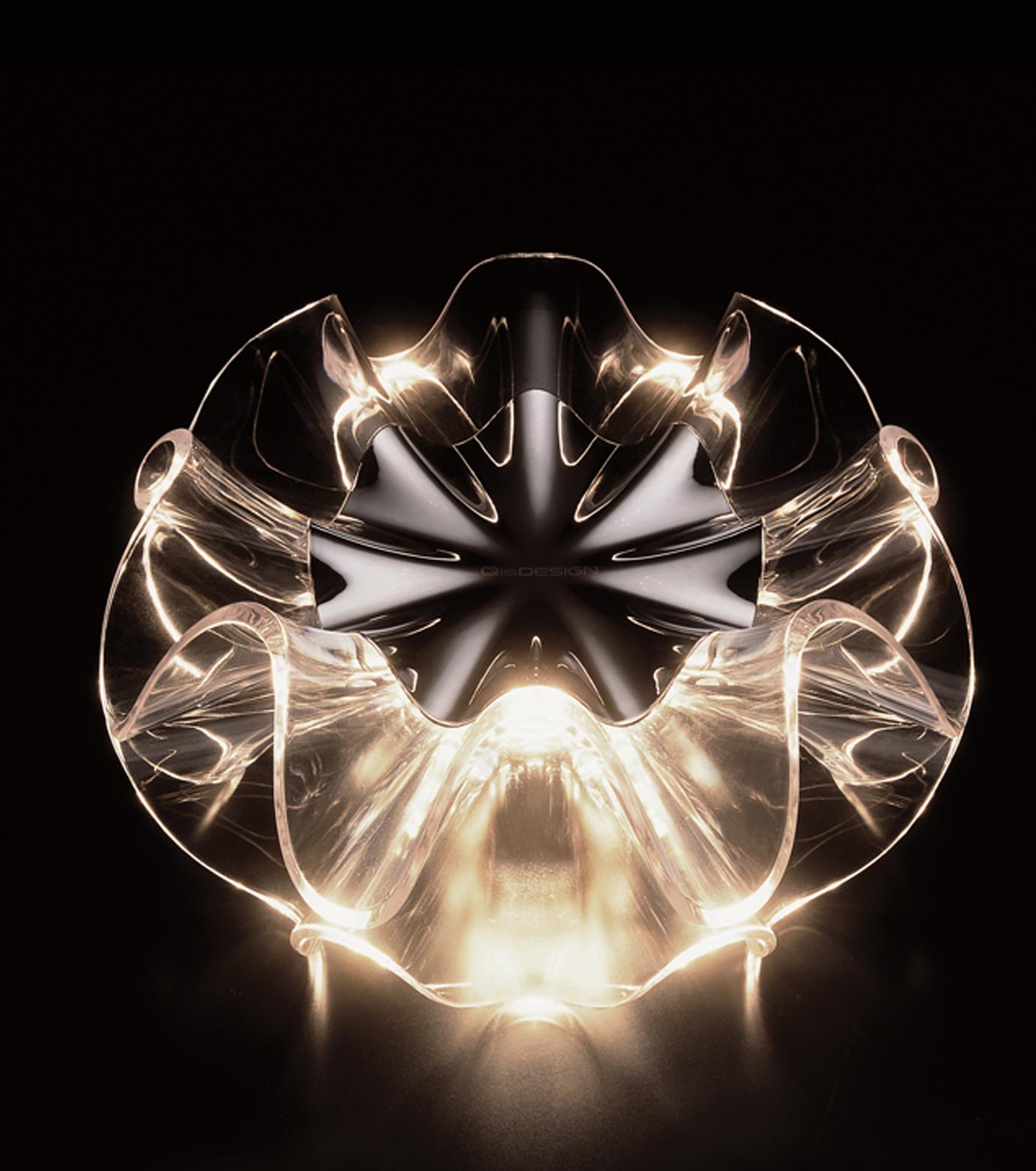 QisDesign(キスデザイン)のFlamenca Table Lamp-ORANGE(ライト/light)-QDL0007-61 拡大詳細画像2
