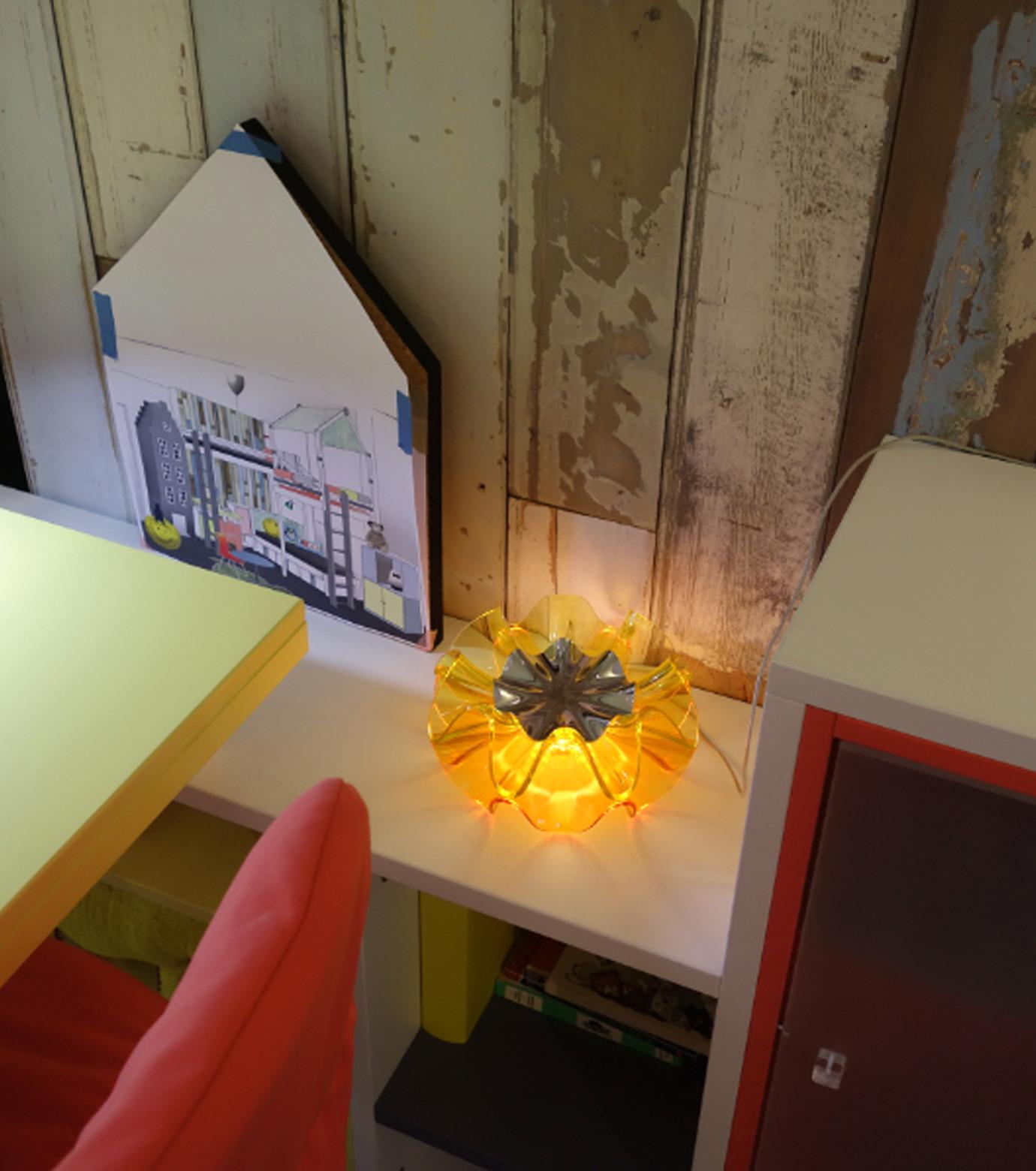 QisDesign(キスデザイン)のFlamenca Table Lamp-ORANGE(ライト/light)-QDL0007-61 拡大詳細画像5