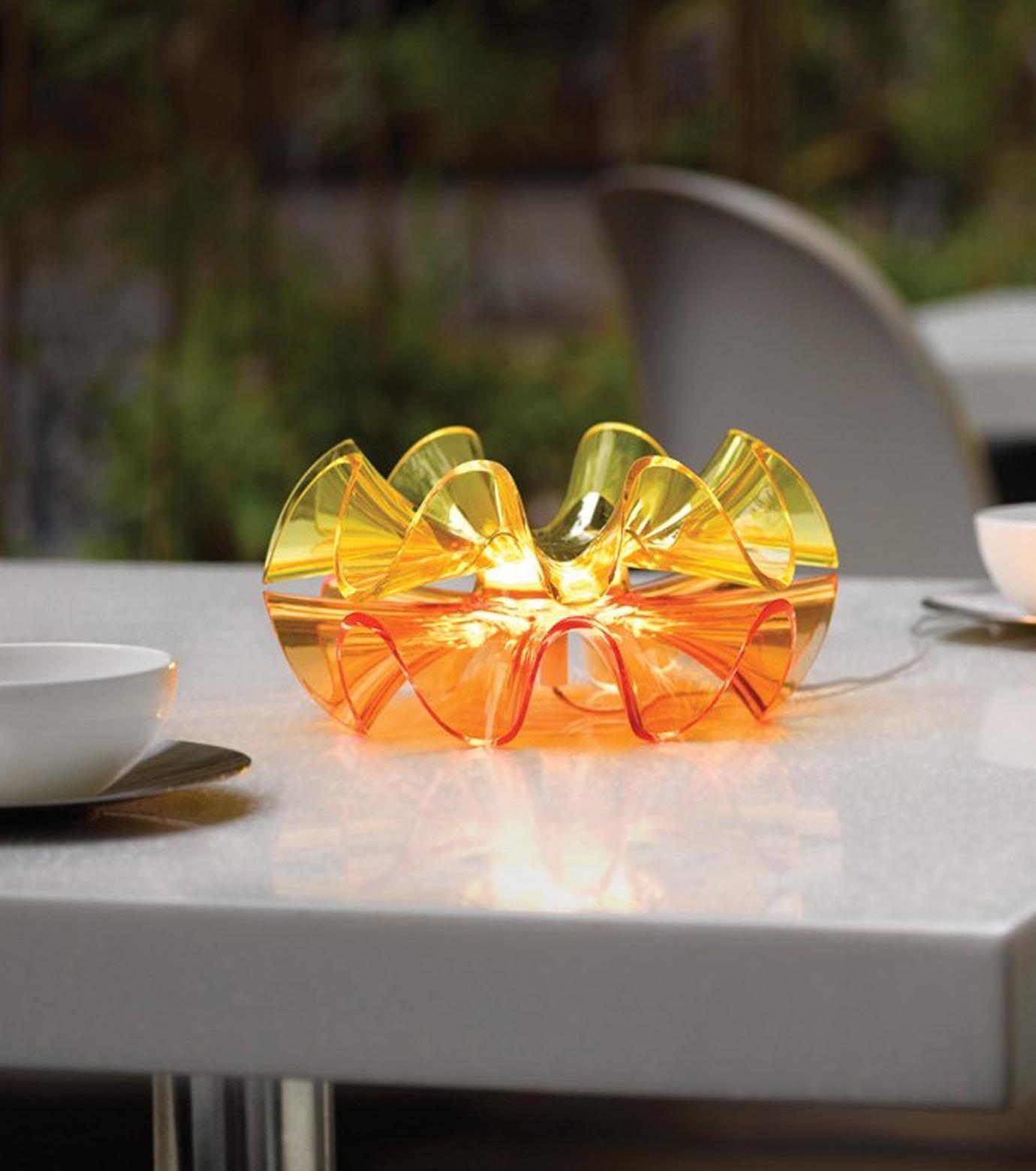 QisDesign(キスデザイン)のFlamenca Table Lamp-ORANGE(ライト/light)-QDL0007-61 拡大詳細画像6