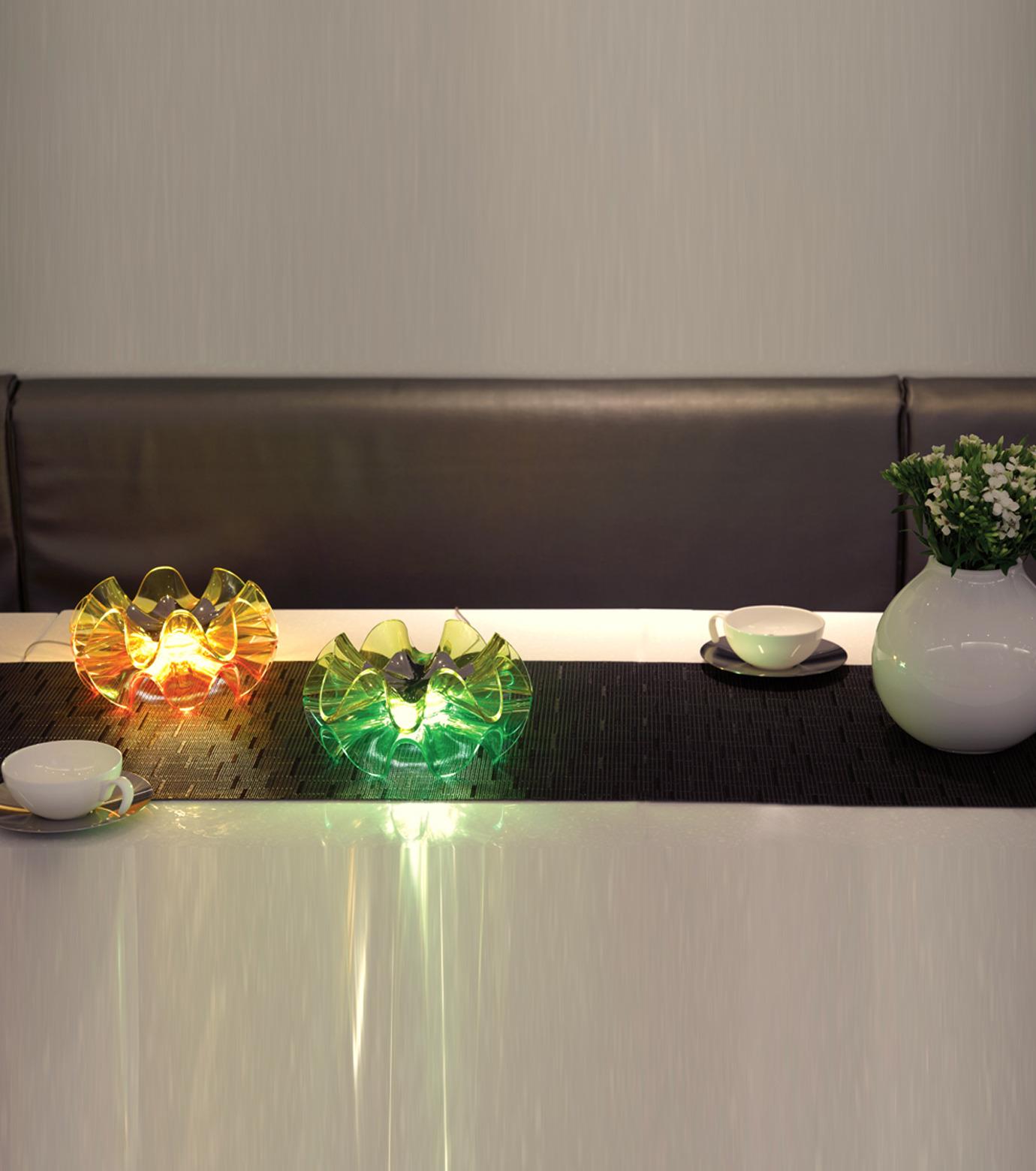 QisDesign(キスデザイン)のFlamenca Table Lamp-ORANGE(ライト/light)-QDL0007-61 拡大詳細画像7