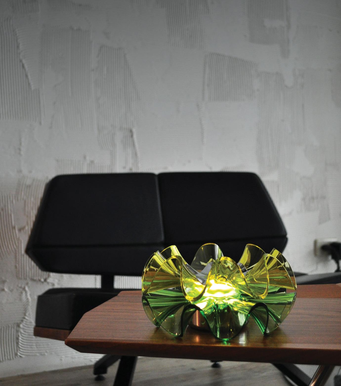 QisDesign(キスデザイン)のFlamenca Table Lamp-GREEN(ライト/light)-QDL0008-22 拡大詳細画像5