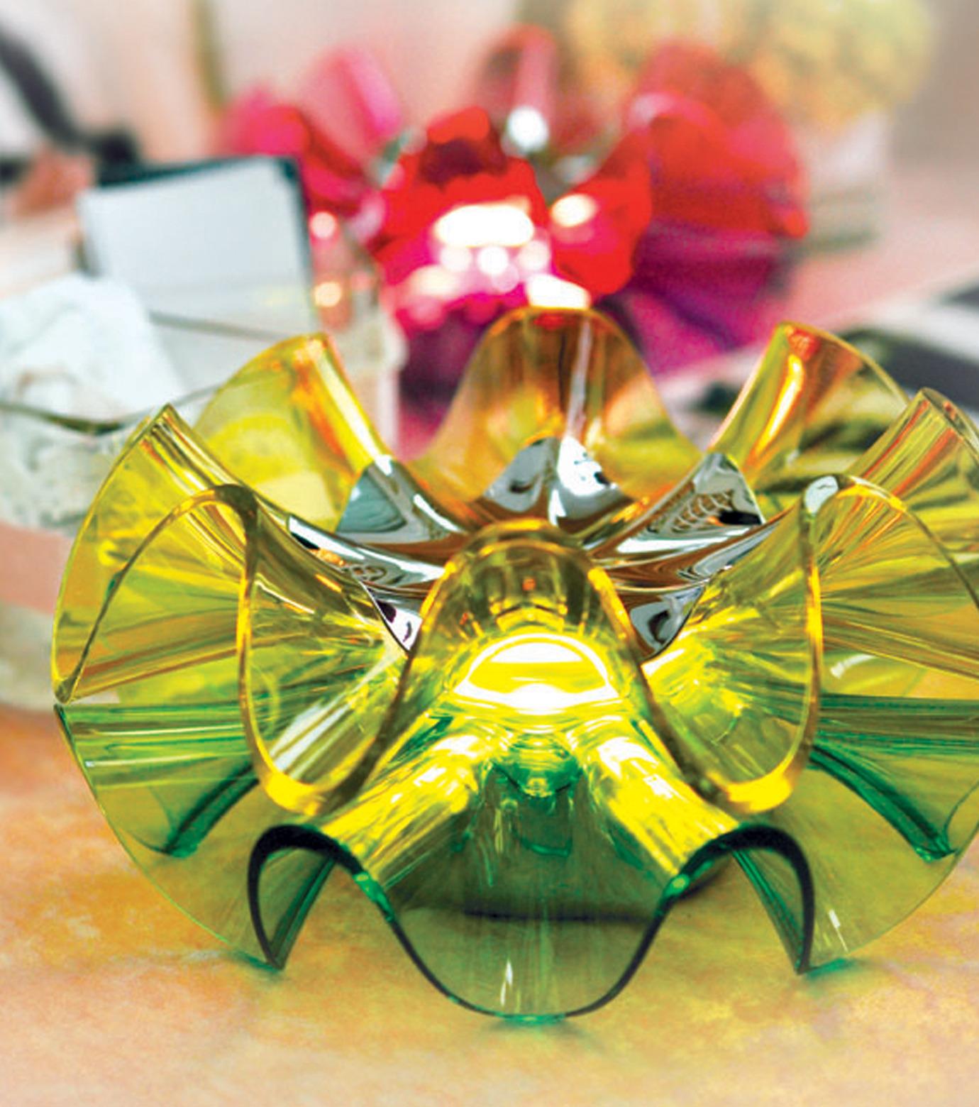 QisDesign(キスデザイン)のFlamenca Table Lamp-GREEN(ライト/light)-QDL0008-22 拡大詳細画像6