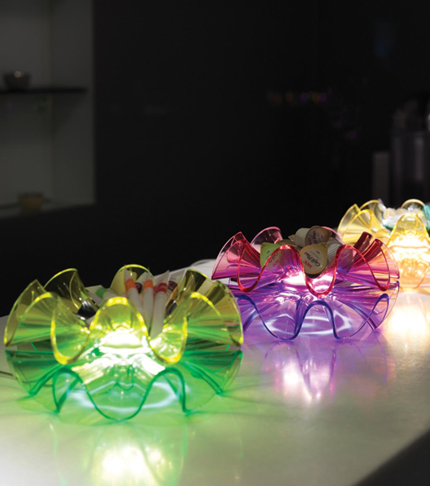 QisDesign(キスデザイン)のFlamenca Table Lamp-GREEN(ライト/light)-QDL0008-22 拡大詳細画像7