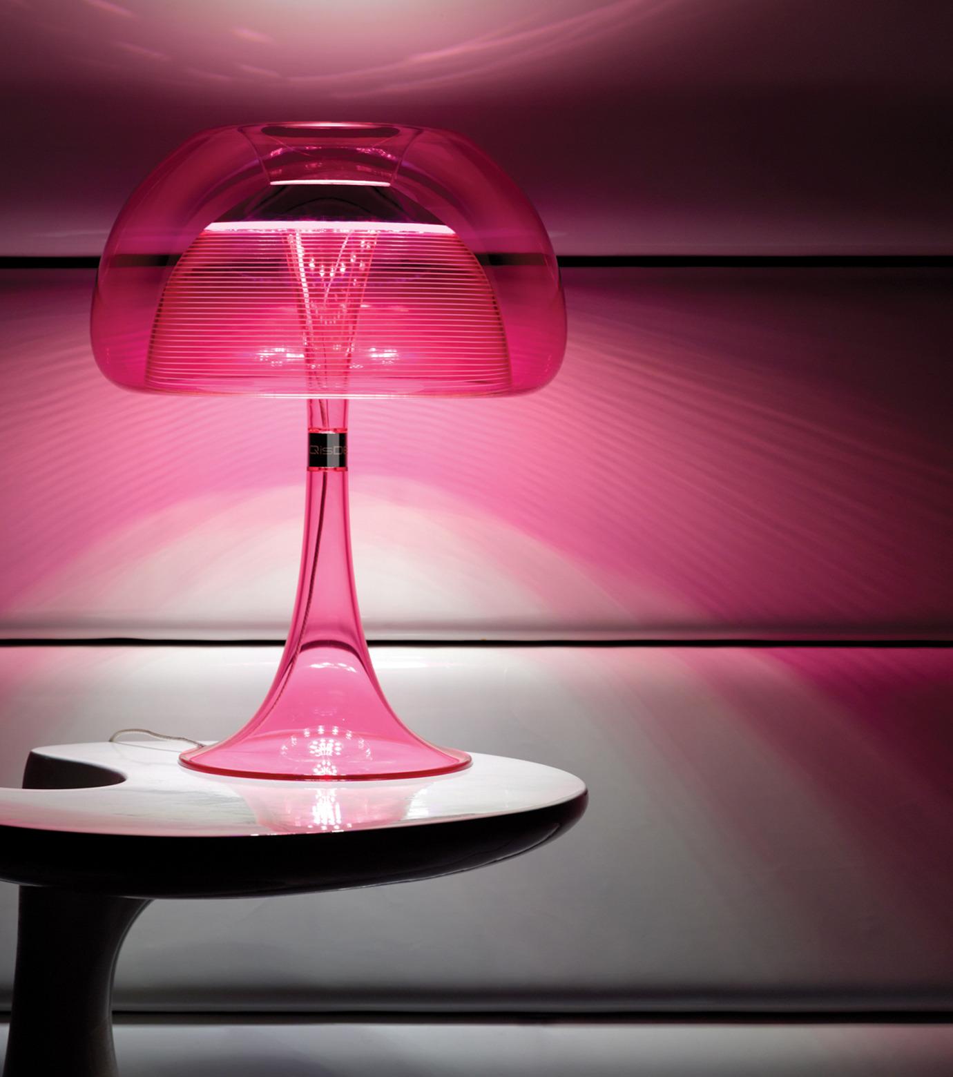 QisDesign(キスデザイン)のAurelia Table Lamp-PINK(ライト/light)-QDL0009-72 拡大詳細画像3