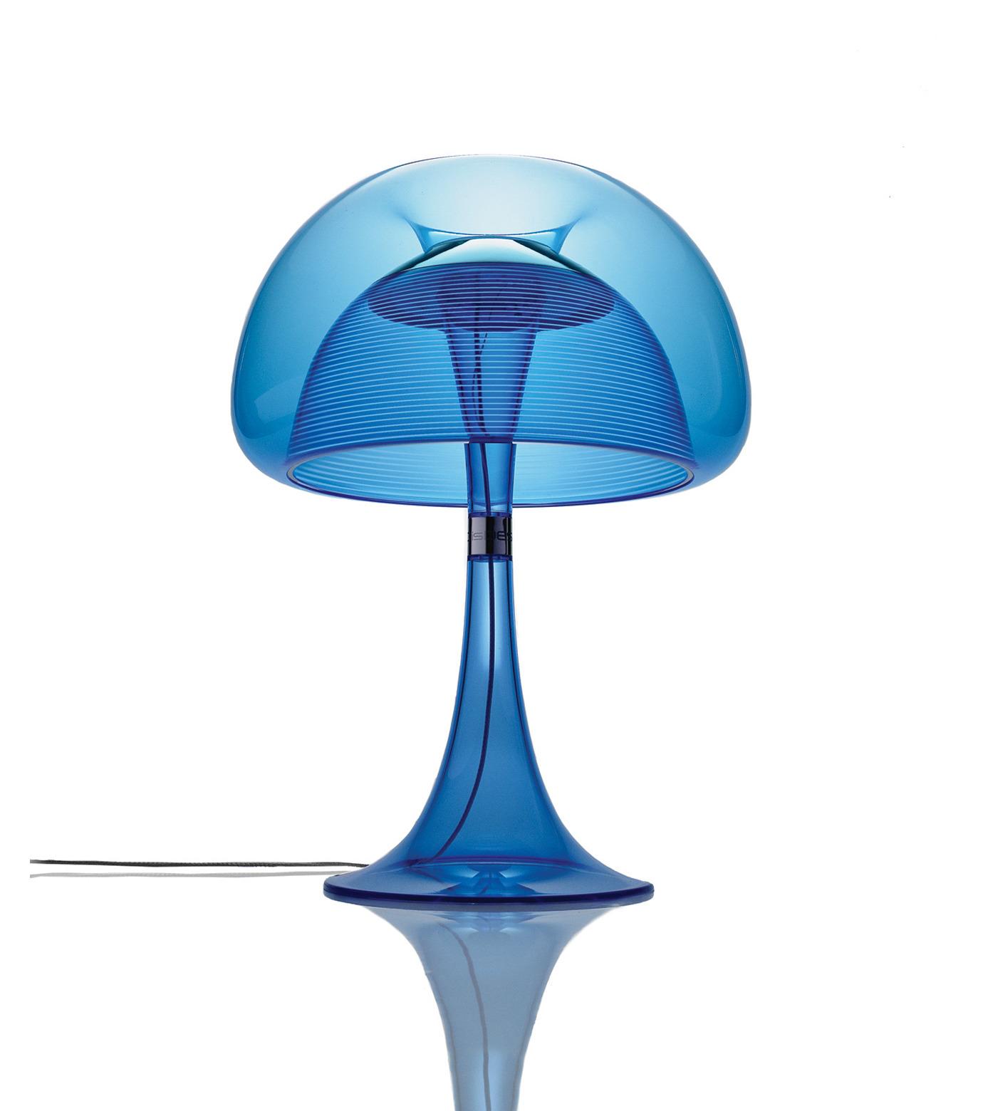 QisDesign(キスデザイン)のAurelia Table Lamp-BLUE(ライト/light)-QDL0010-92 拡大詳細画像1
