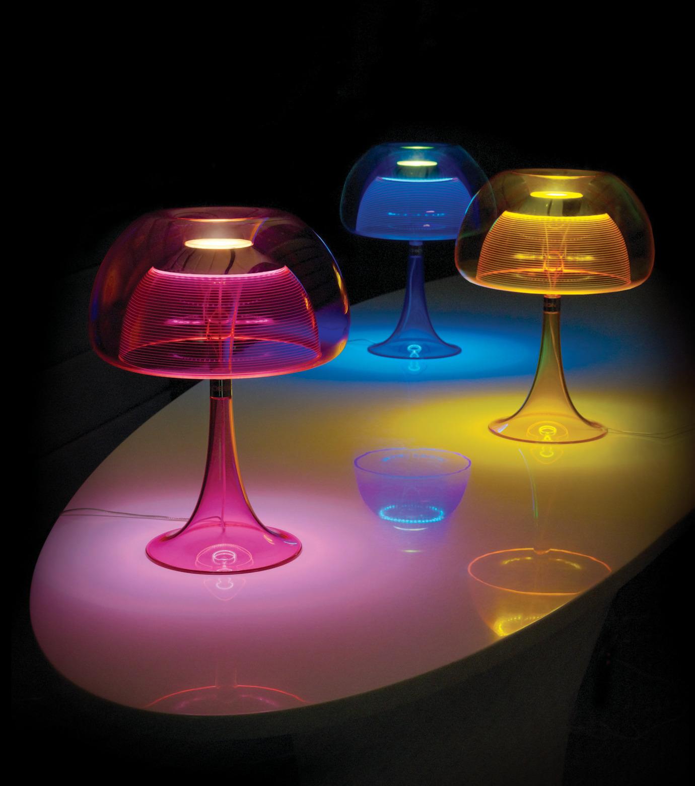 QisDesign(キスデザイン)のAurelia Table Lamp-BLUE(ライト/light)-QDL0010-92 拡大詳細画像4