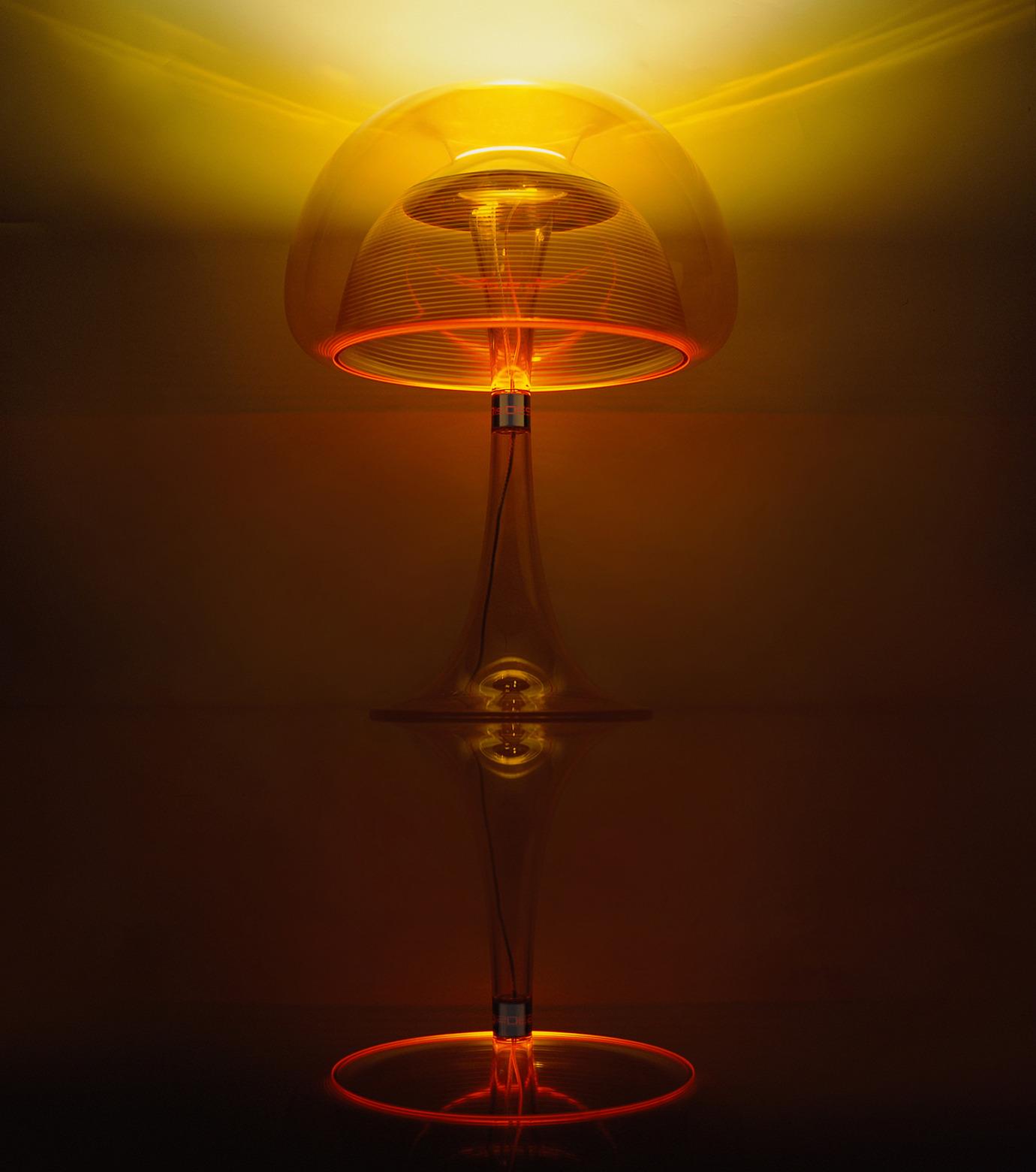 QisDesign(キスデザイン)のAurelia Table Lamp-ORANGE(ライト/light)-QDL0011-61 拡大詳細画像2