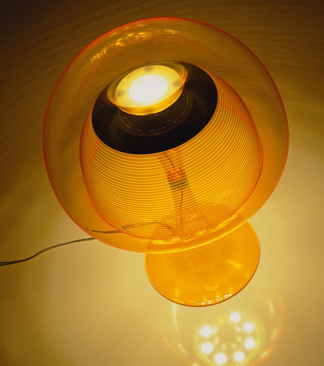 QisDesign(キスデザイン)のAurelia Table Lamp-ORANGE(ライト/light)-QDL0011-61 拡大詳細画像3