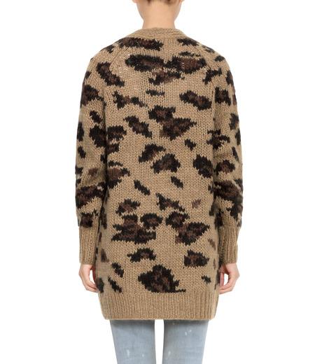 R13(アール サーティン)のLeopard Grunge Cardigan-CAMEL(ニット/knit)-R13W3020-008-53 詳細画像2
