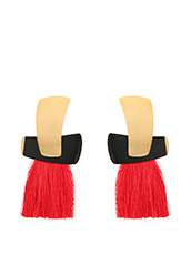 Lizzie Fortunato() Totem Tassel Earrings