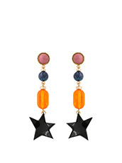 Lizzie Fortunato() Retro Holiday Earrings