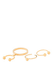 Maria Francesca Pepe Pierced Set of Ring