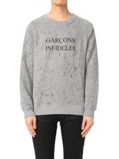 GARCONS INFIDELES(ギャルソン・インフィデレス) Logo Sweat