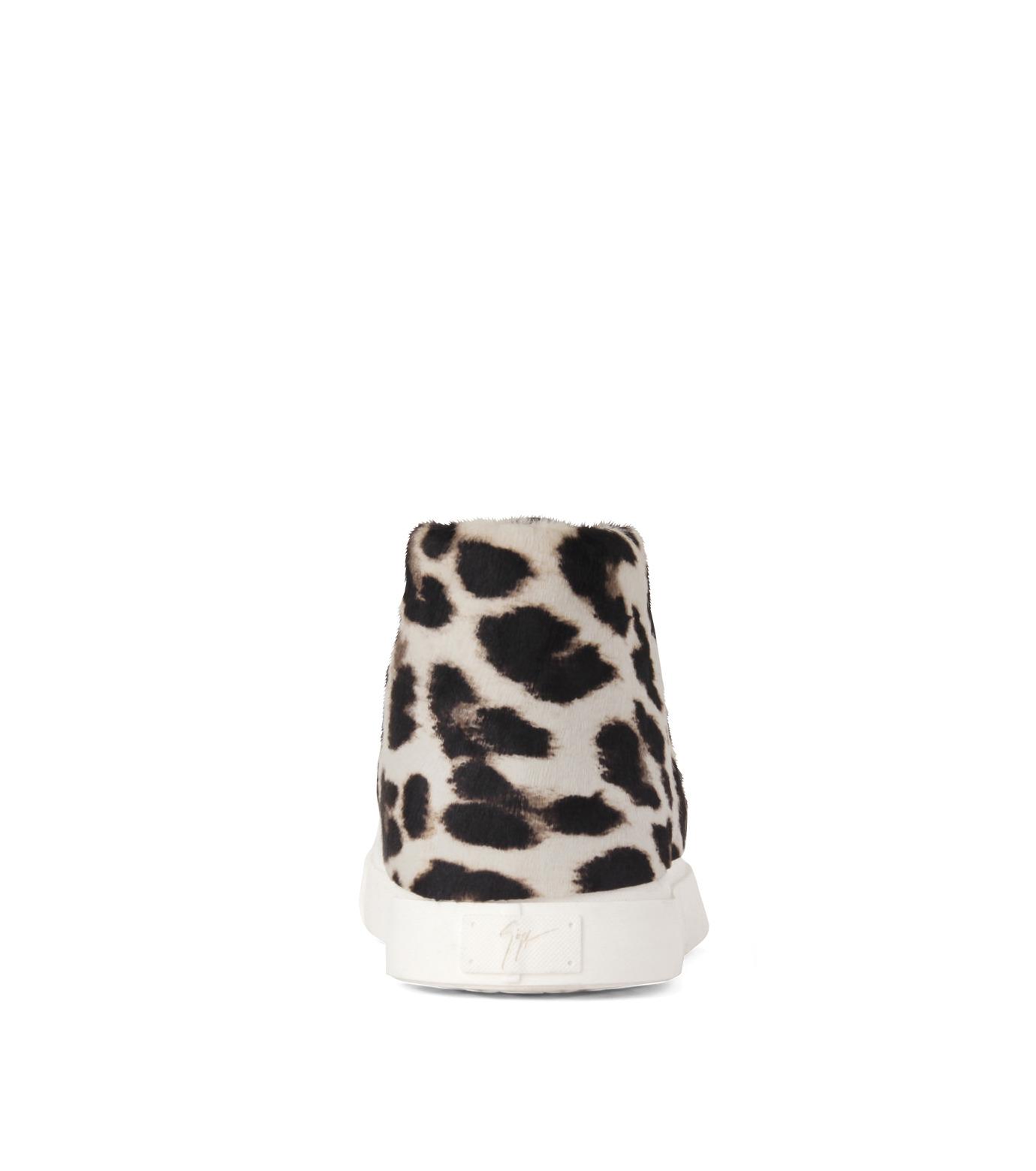 Giuseppe Zanotti Design(ジュゼッペザノッティ)のLeoperd Chucker-CAMEL(シューズ/shoes)-RDM455-NA-53 拡大詳細画像3