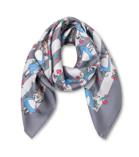 Olympia Le-Tan(オリンピア ルタン)のTea Party Scarf-GRAY(ストール/stole)-RE16ASS002-11 詳細画像1