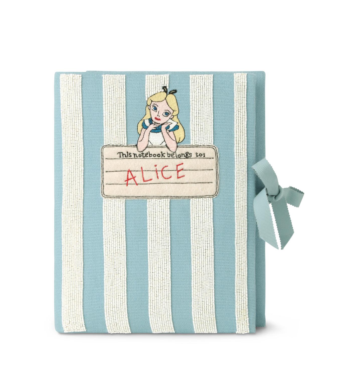 Olympia Le-Tan(オリンピア ルタン)のNotebook Clutch Alice-LIGHT BLUE(クラッチバッグ/clutch bag)-RE16BN001-91 拡大詳細画像1