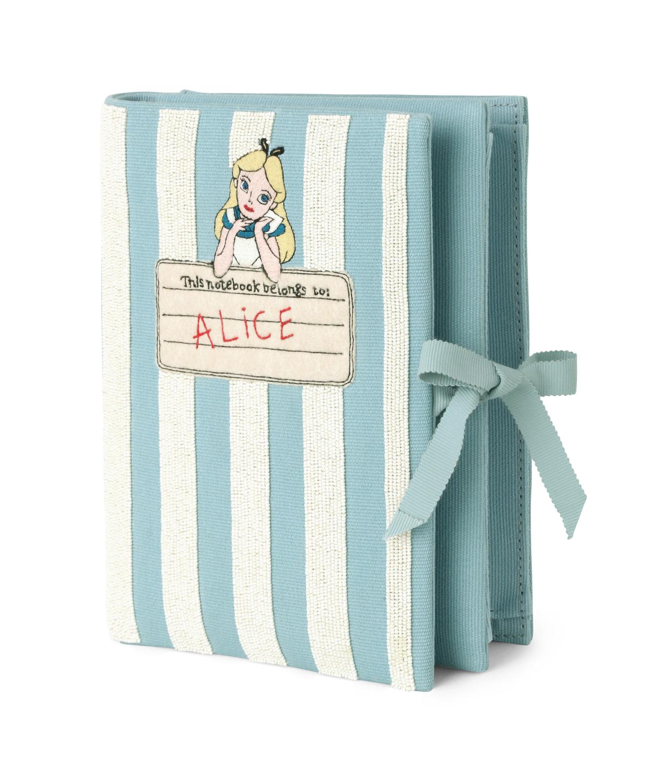 Olympia Le-Tan(オリンピア ルタン)のNotebook Clutch Alice-LIGHT BLUE(クラッチバッグ/clutch bag)-RE16BN001-91 拡大詳細画像2