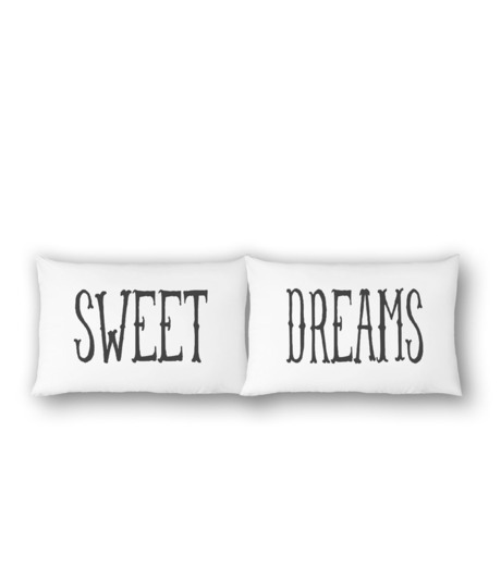 THE RISE AND FALL()のSWEET DREAMS PILLOWCASE SET-WHITE(インテリア/interior)-RFB1231-4 詳細画像1