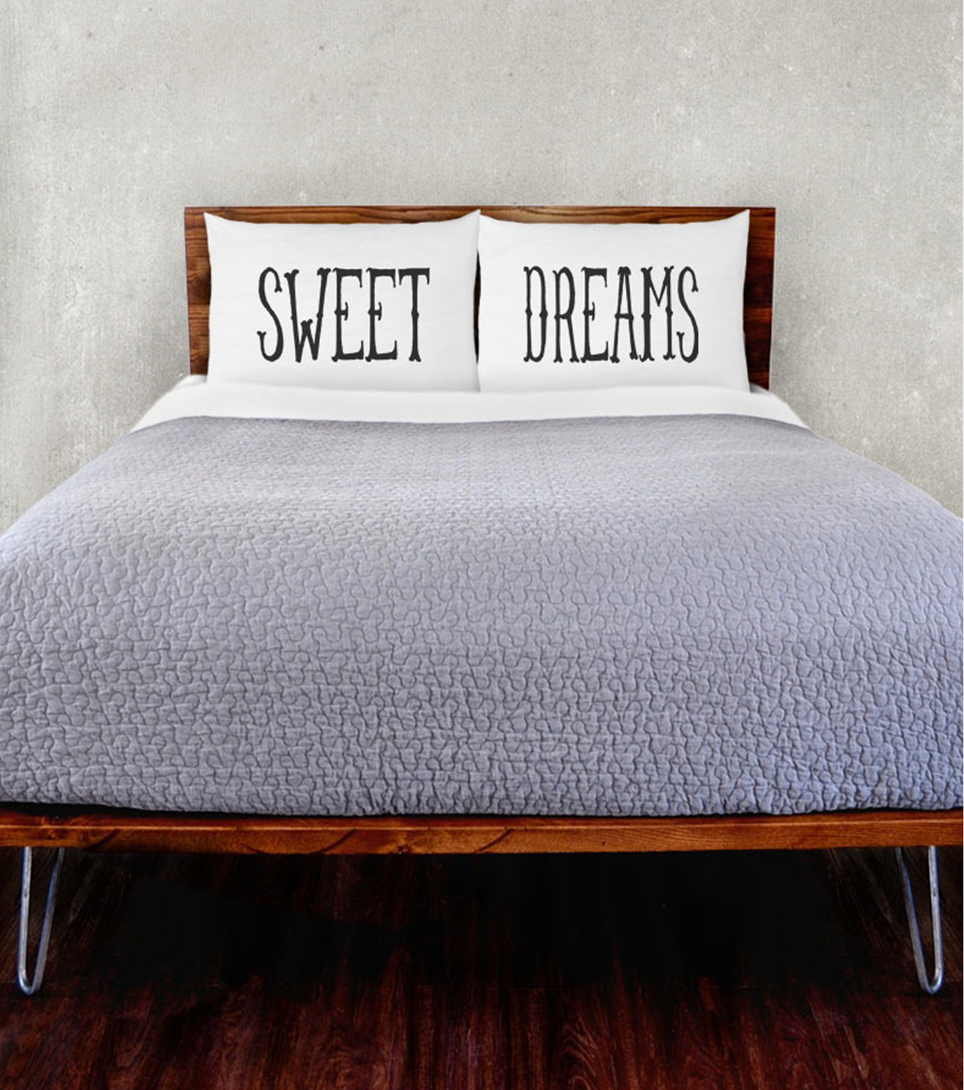 THE RISE AND FALL()のSWEET DREAMS PILLOWCASE SET-WHITE(インテリア/interior)-RFB1231-4 拡大詳細画像2