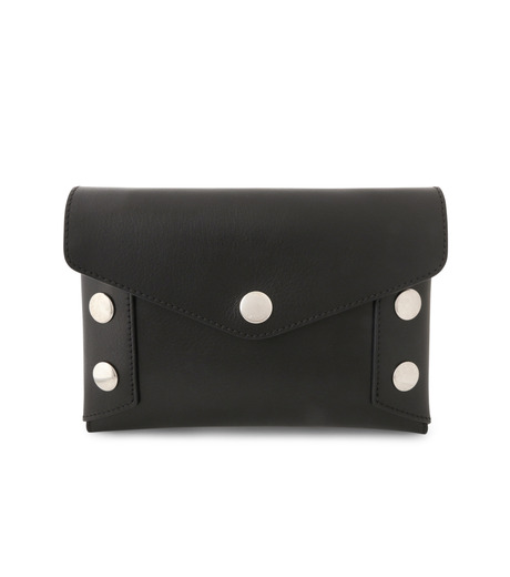 Mulberry()のEnvelop Pouch Smooth Calf-BLACK-RL4794-353-13 詳細画像1
