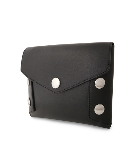 Mulberry()のEnvelop Pouch Smooth Calf-BLACK-RL4794-353-13 詳細画像2