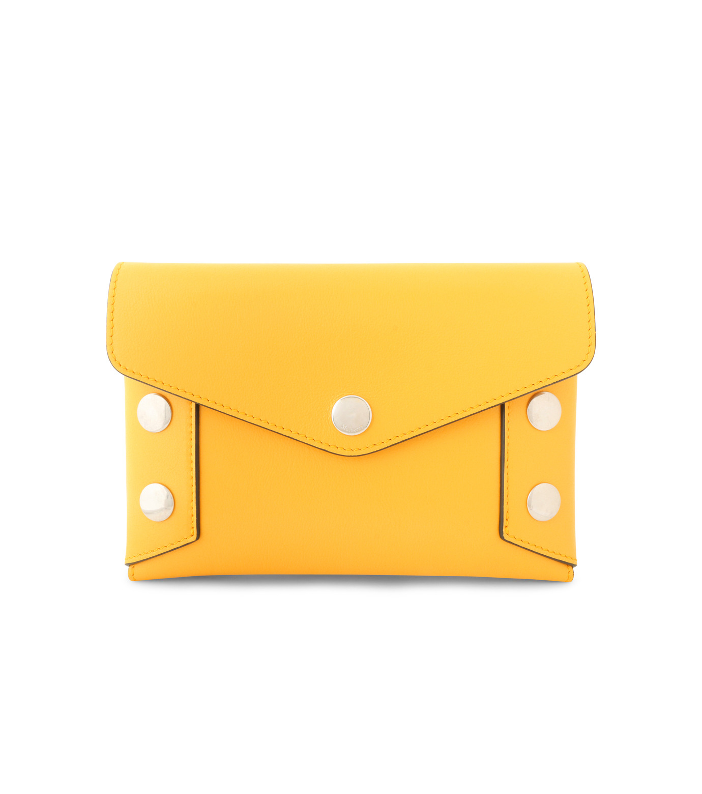 Mulberry()のEnvelop Pouch Smooth Calf-YELLOW-RL4794-353-32 拡大詳細画像1