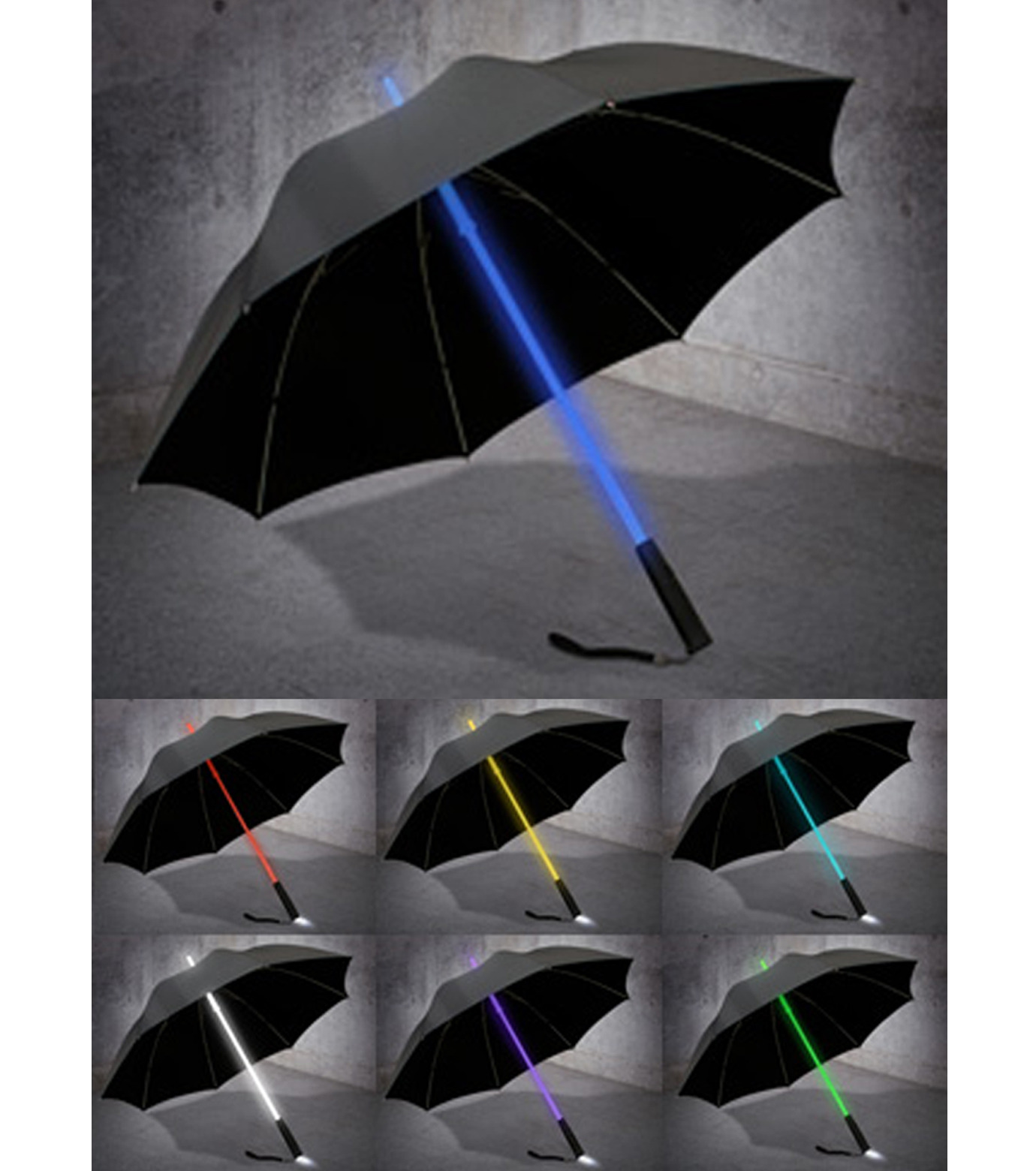 RELAX(リラックス)のLight Blade Umbrella-BLACK(ライト/OTHER-GOODS/light/OTHER-GOODS)-RLB-UMB-13 拡大詳細画像3