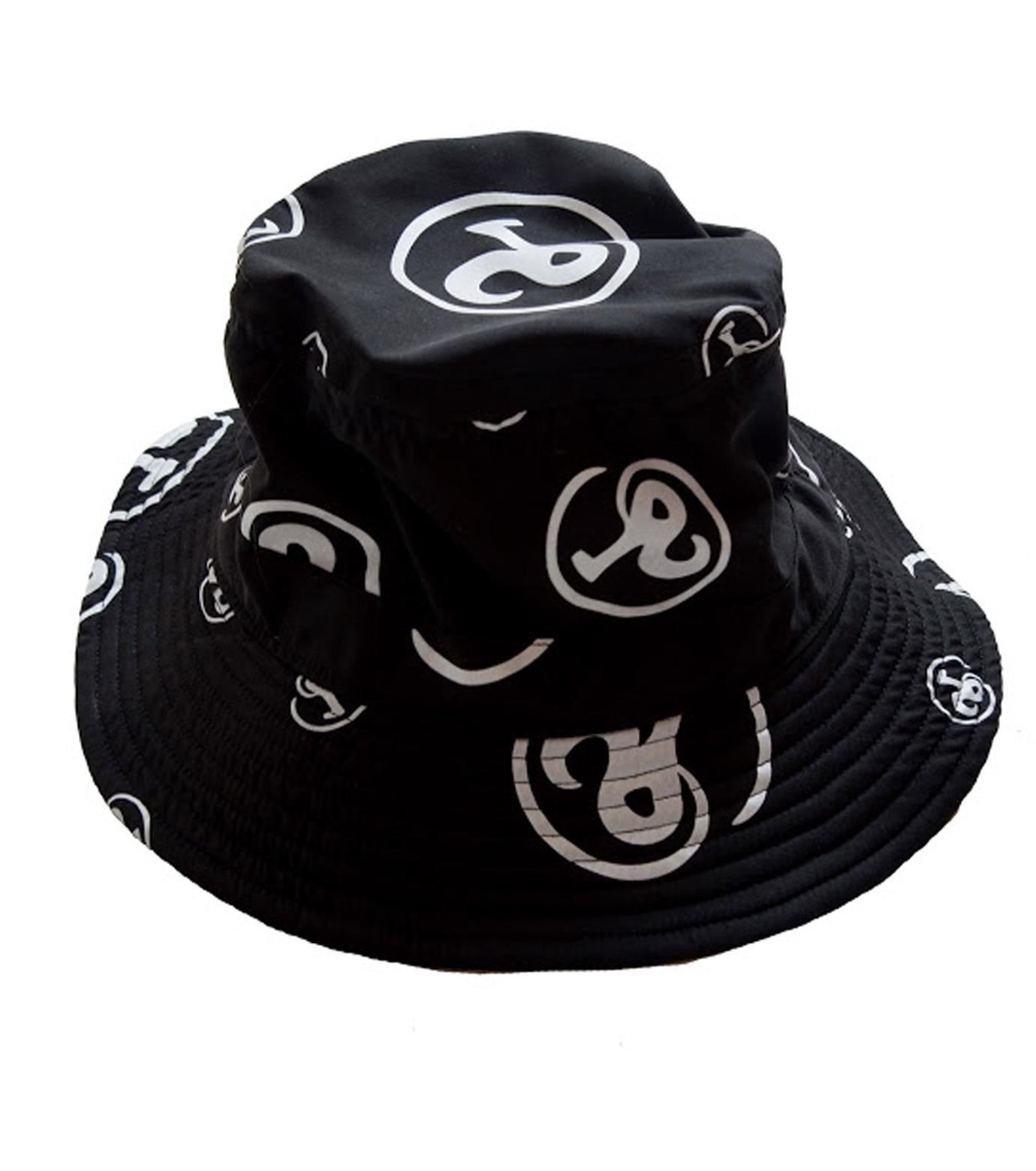 Richardson Magazine(リチャードソン マガジン)のErika Bucket Hat-BLACK(キャップ/cap)-RM-ErikaHat-13 拡大詳細画像1