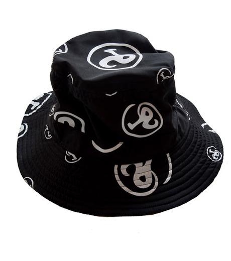 Richardson Magazine(リチャードソン マガジン)のErika Bucket Hat-BLACK(キャップ/cap)-RM-ErikaHat-13 詳細画像1
