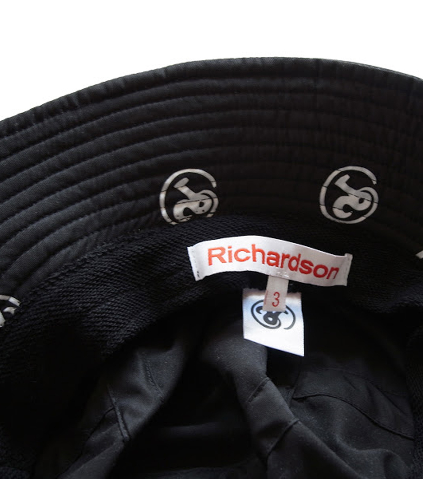 Richardson Magazine(リチャードソン マガジン)のErika Bucket Hat-BLACK(キャップ/cap)-RM-ErikaHat-13 拡大詳細画像2