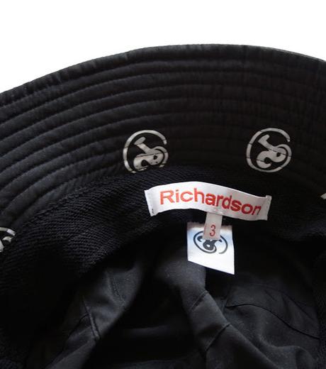 Richardson Magazine(リチャードソン マガジン)のErika Bucket Hat-BLACK(キャップ/cap)-RM-ErikaHat-13 詳細画像2
