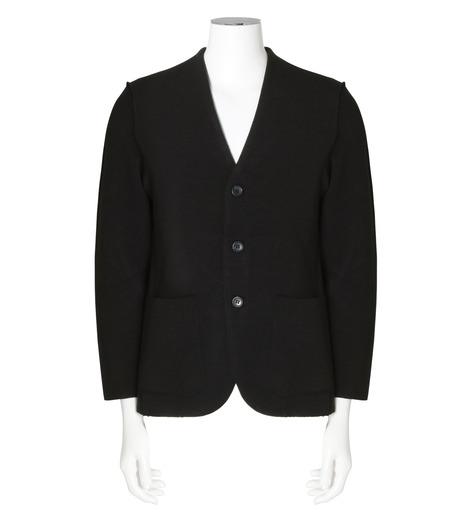RAINMAKER(レインメーカー)のrib nocollar jacket-BLACK(ジャケット/jacket)-RM162-006-13 詳細画像1