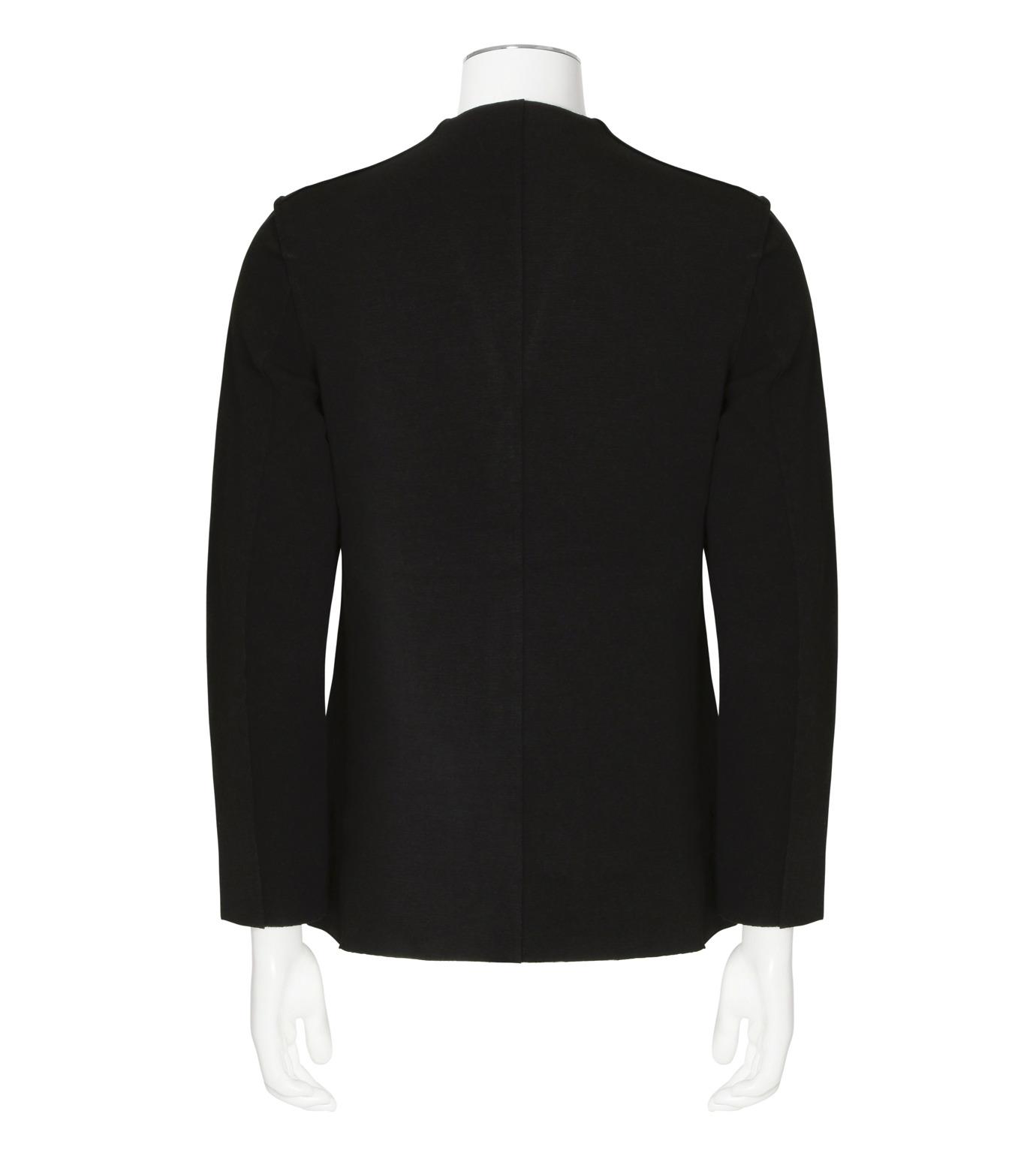RAINMAKER(レインメーカー)のrib nocollar jacket-BLACK(ジャケット/jacket)-RM162-006-13 拡大詳細画像2