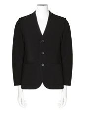 RAINMAKER rib nocollar jacket