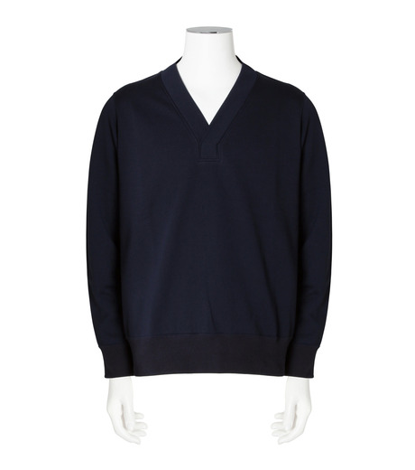 RAINMAKER(レインメーカー)のa-1 sweat-NAVY(カットソー/cut and sewn)-RM162-009-93 詳細画像1
