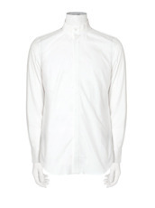 RAINMAKER rib collar shirt