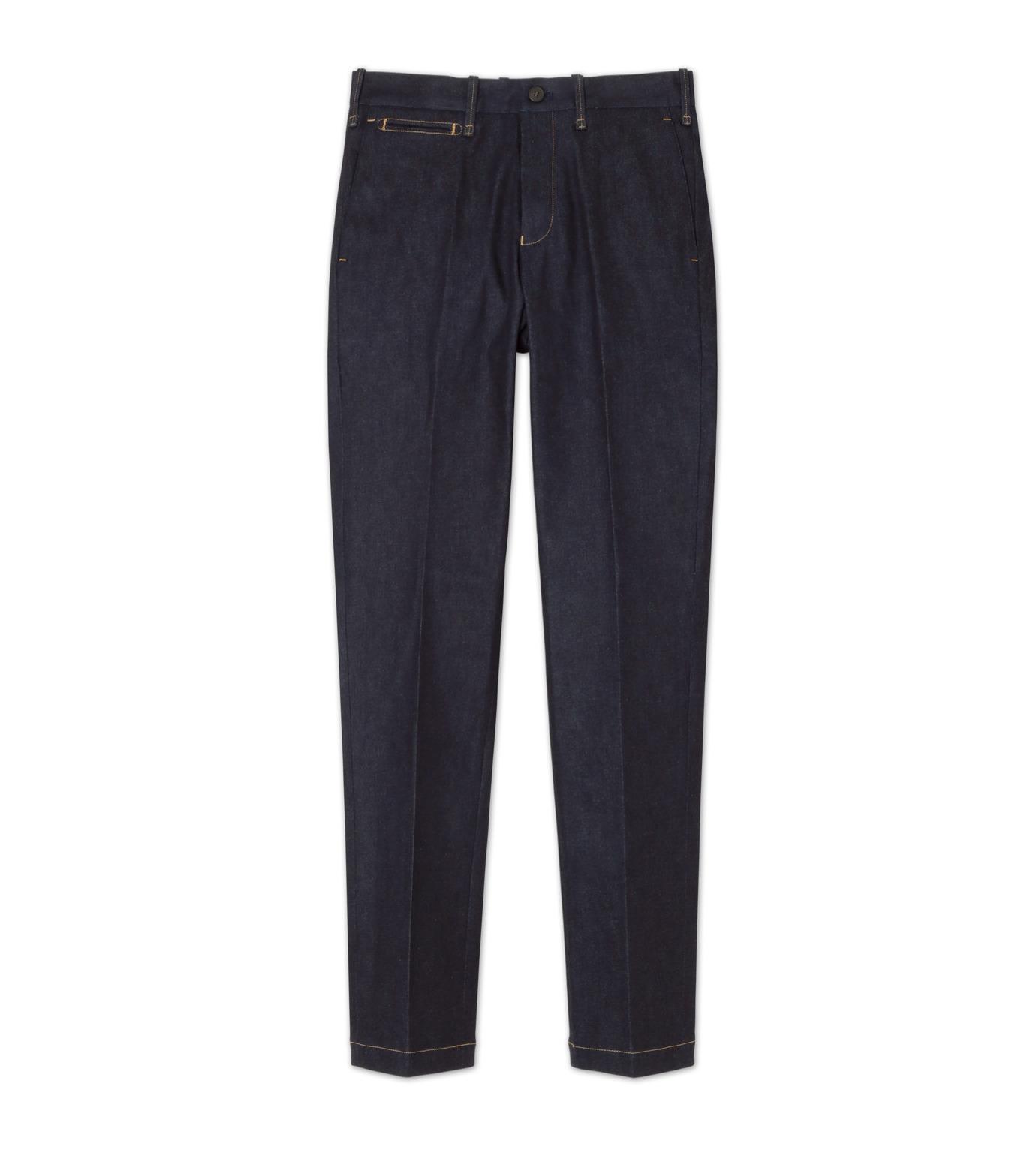 RAINMAKER(レインメーカー)のdenim trousers-INDIGO(パンツ/pants)-RM162-015-94 拡大詳細画像1