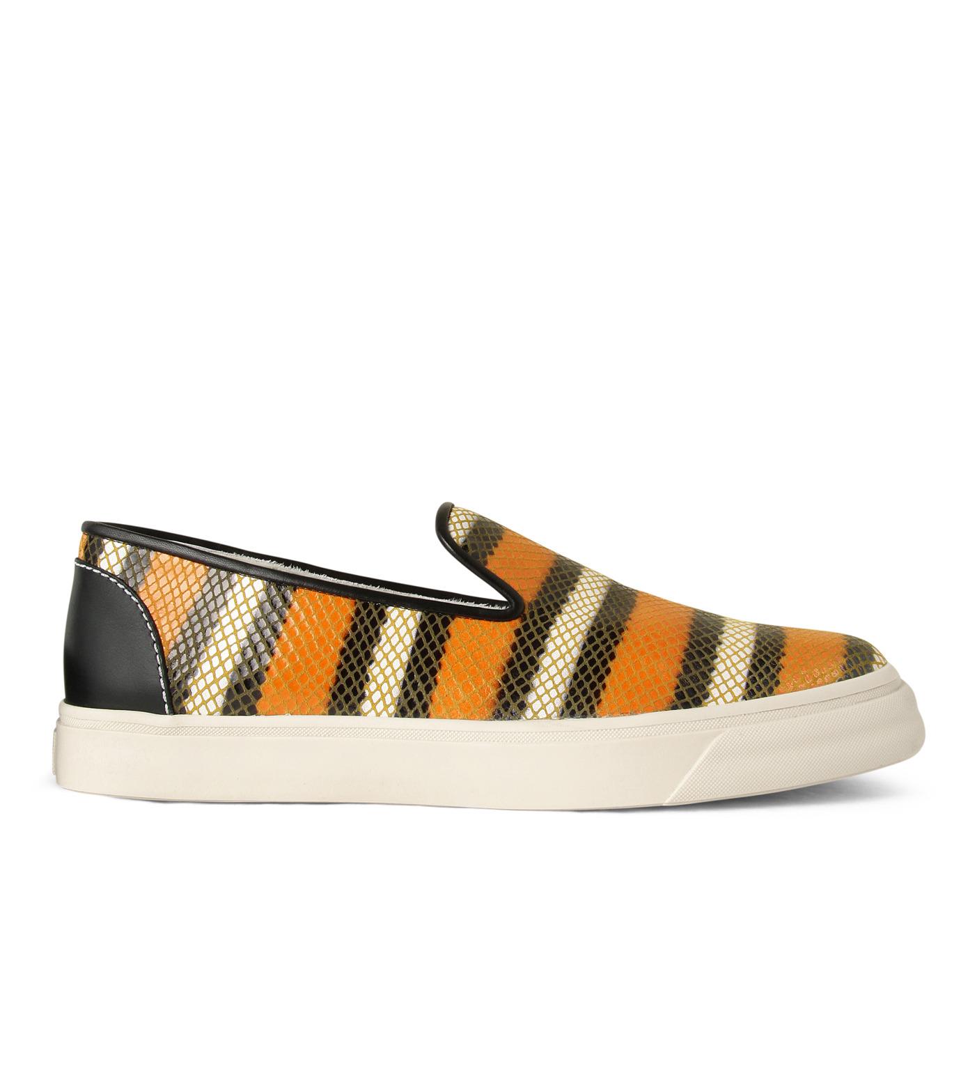 Giuseppe Zanotti Design(ジュゼッペザノッティ)のStripe Slip-On Sneaker-RED(シューズ/shoes)-RM5043MD-62 拡大詳細画像1
