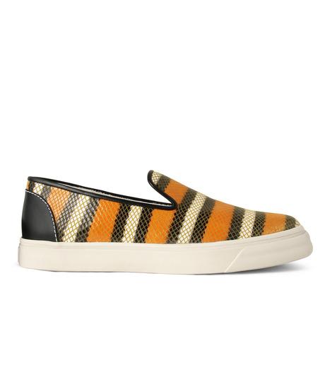 Giuseppe Zanotti Design(ジュゼッペザノッティ)のStripe Slip-On Sneaker-RED(シューズ/shoes)-RM5043MD-62 詳細画像1
