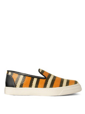 Giuseppe Zanotti Design Stripe Slip-On Sneaker