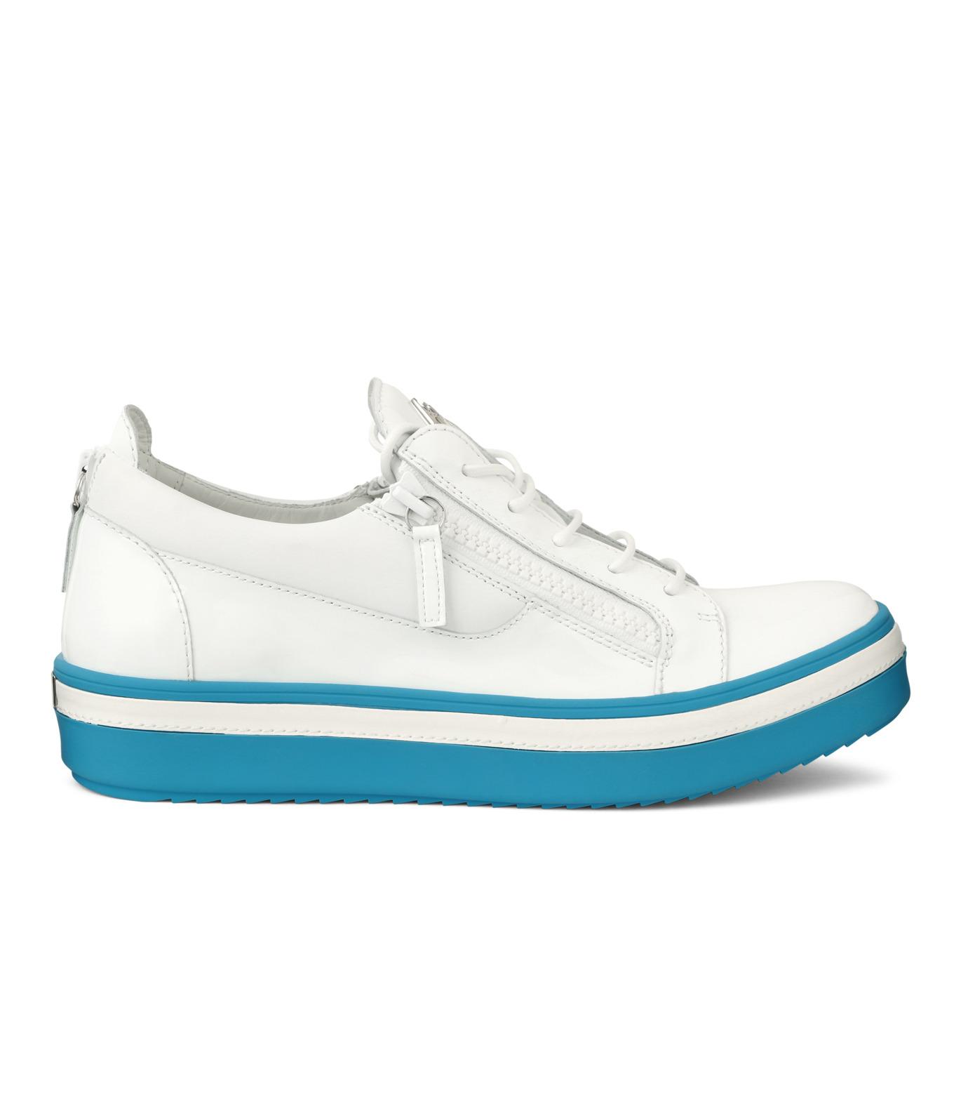 Giuseppe Zanotti Design(ジュゼッペザノッティ)のZipsneaker-WHITE(スニーカー/sneaker)-RM6072VE-4 拡大詳細画像1