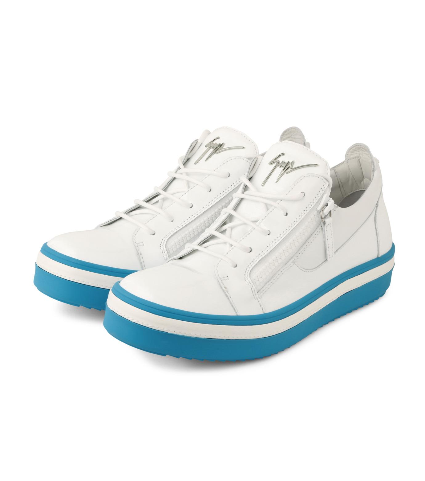 Giuseppe Zanotti Design(ジュゼッペザノッティ)のZipsneaker-WHITE(スニーカー/sneaker)-RM6072VE-4 拡大詳細画像3
