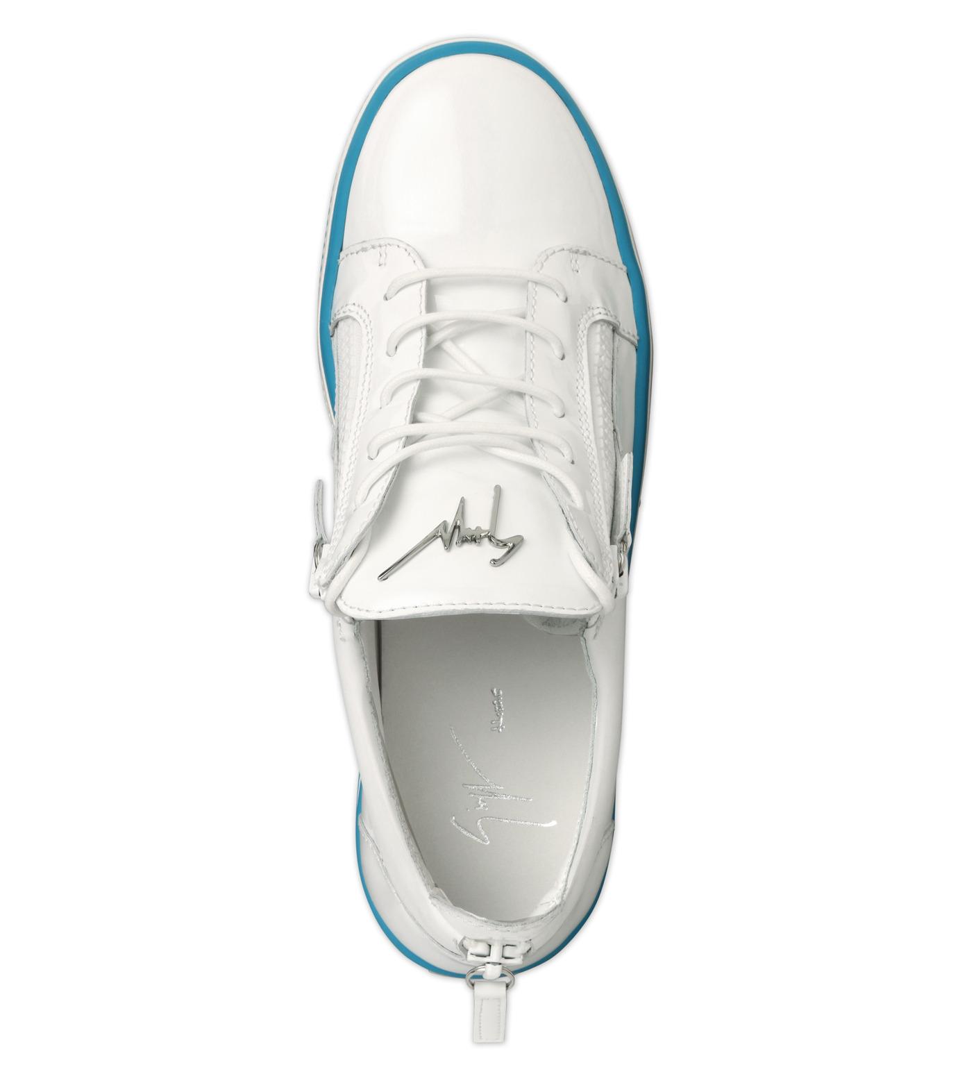 Giuseppe Zanotti Design(ジュゼッペザノッティ)のZipsneaker-WHITE(スニーカー/sneaker)-RM6072VE-4 拡大詳細画像4