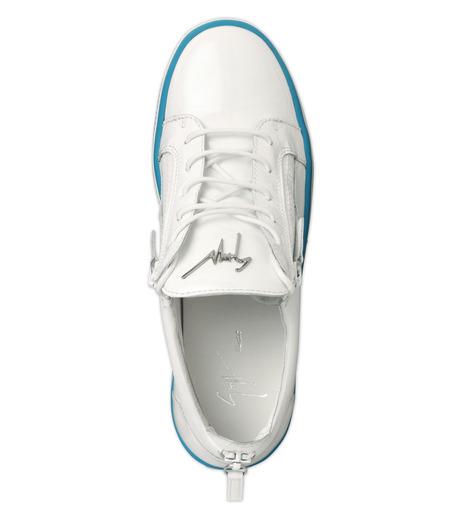 Giuseppe Zanotti Design(ジュゼッペザノッティ)のZipsneaker-WHITE(スニーカー/sneaker)-RM6072VE-4 詳細画像4