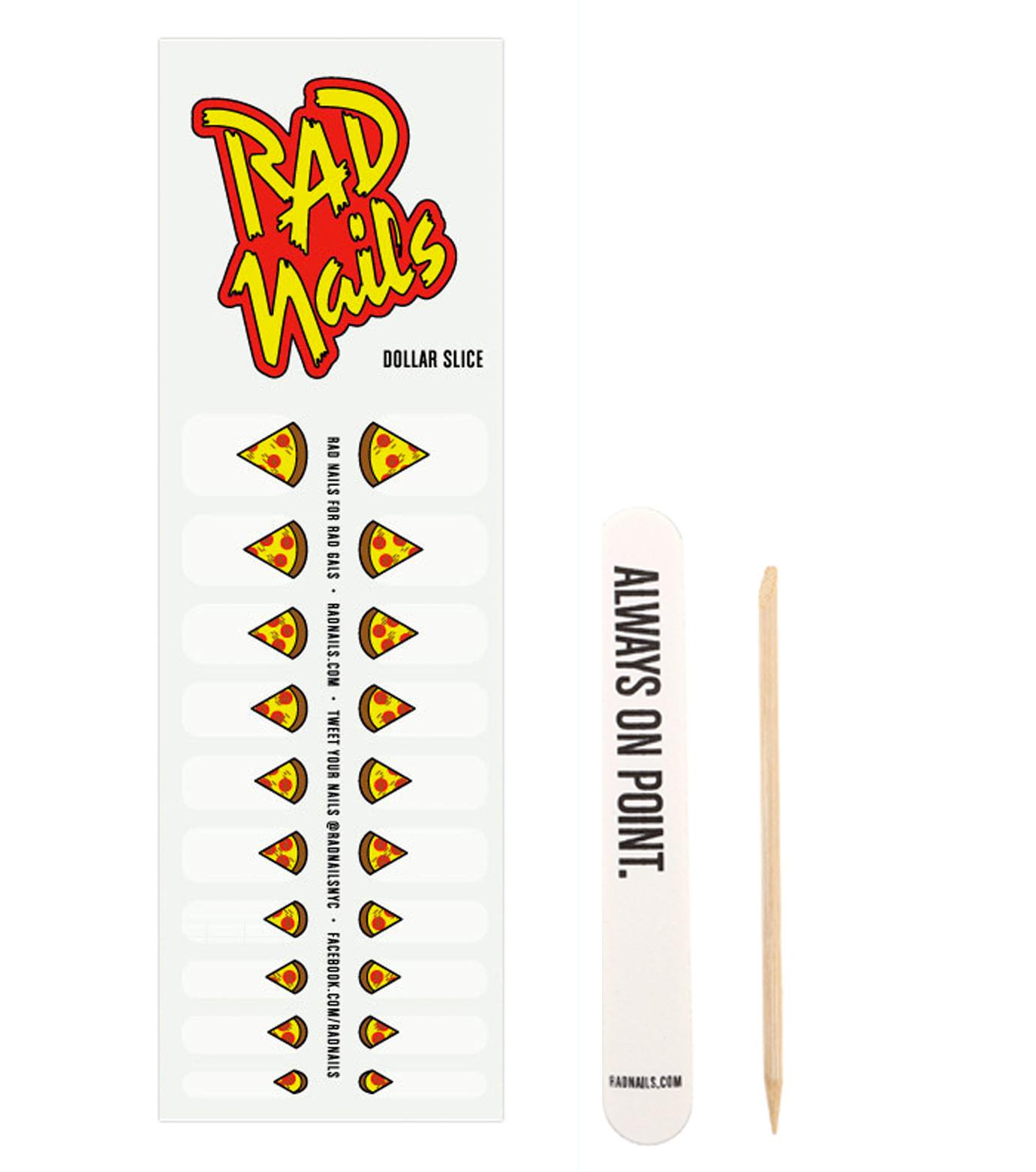 RAD nails(ラッドネイルス)のDollar Slice-YELLOW(アザーズ/others)-RNDS14-32 拡大詳細画像1