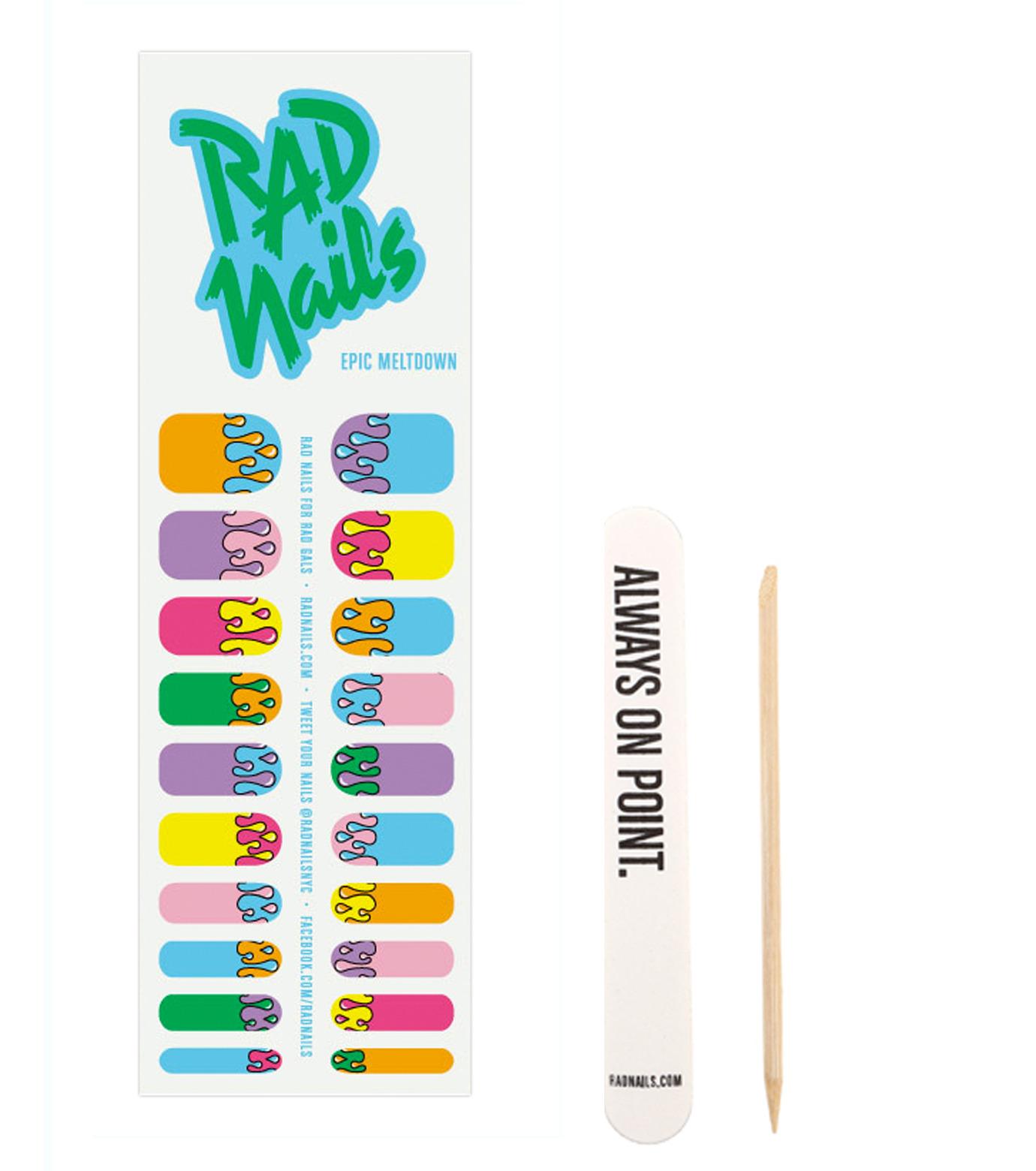 RAD nails(ラッドネイルス)のEpic Meltdown-GREEN(アザーズ/others)-RNEM13-22 拡大詳細画像1