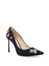 Jimmy Choo 162Pump w/Embroidery