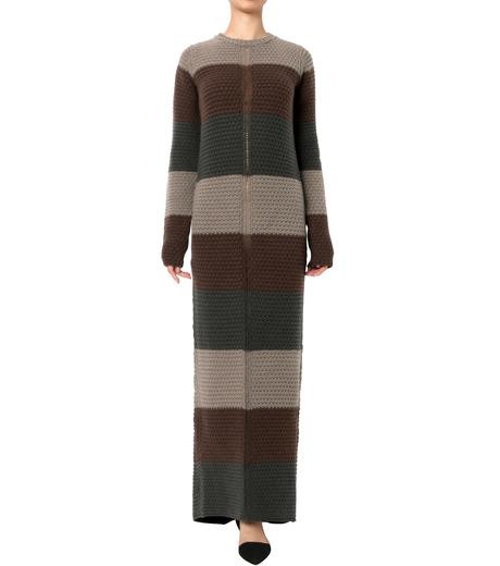 Rick Owens(リックオウエンス)のPitti Stripes Knit Long Dress-MULTI COLOUR(ニット/knit)-RP16F2655HGC-9 詳細画像1