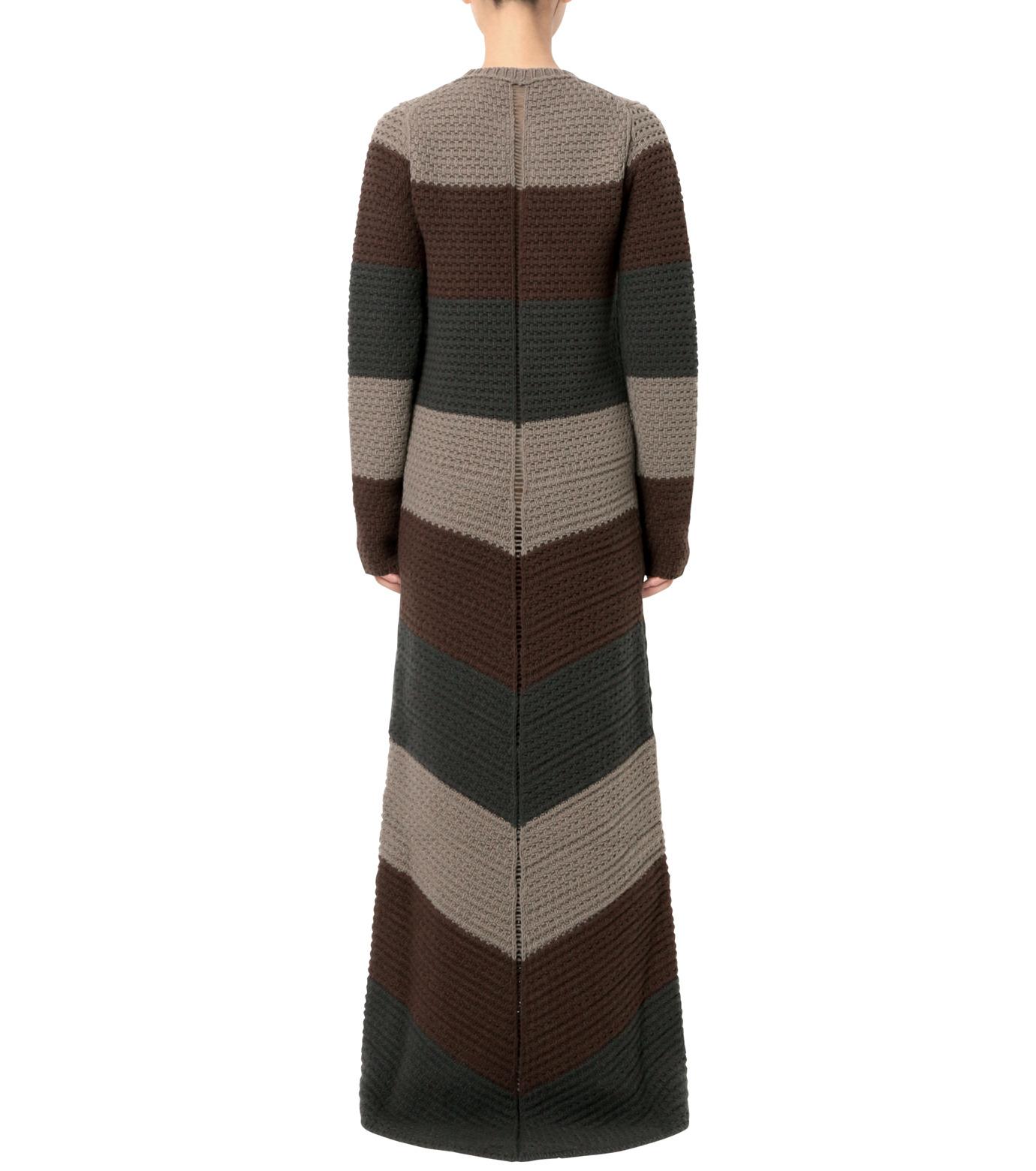 Rick Owens(リックオウエンス)のPitti Stripes Knit Long Dress-MULTI COLOUR(ニット/knit)-RP16F2655HGC-9 拡大詳細画像2