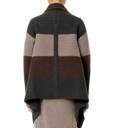 Rick Owens(リックオウエンス)のPitti Stripe Long Cardigan Jkt-MULTI COLOUR(ニット/knit)-RP16F2657HGC-9 詳細画像2
